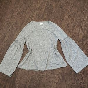 Gap Ruffle Bell Sleeve Sweater